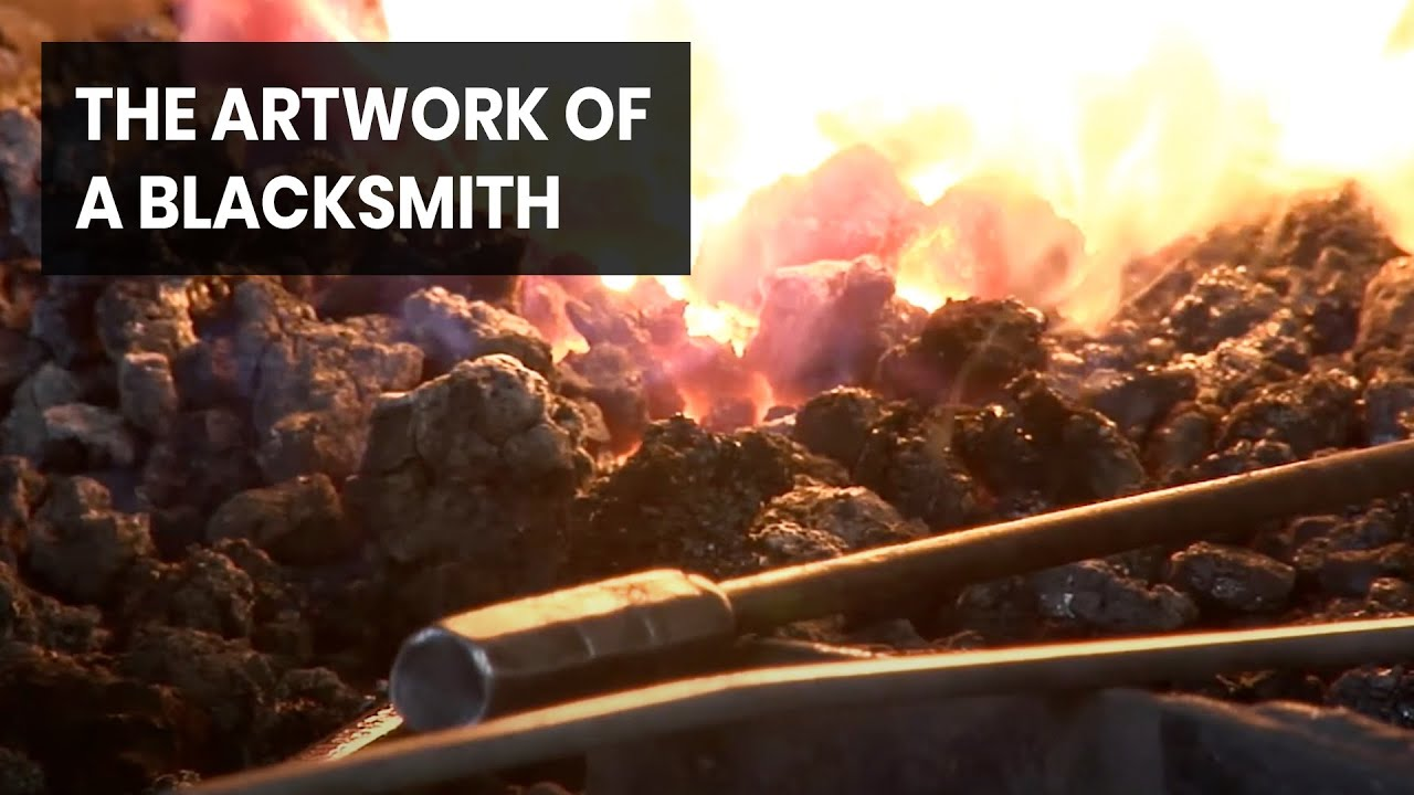 A Blacksmith Who Creates Pieces for Royalty and Hollywood Celebrities