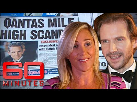 Flight attendant's 'Mile High Club' experience with Ralph Fiennes   60 Minutes Australia