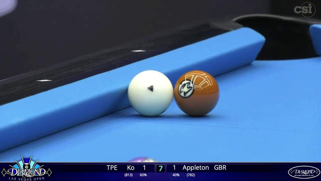 Ko Ping-Chung vs Darren Appleton | 2020 Diamond Las Vegas Open | Match #1