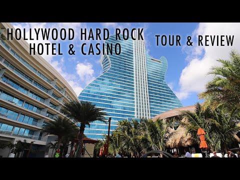 Review & Tour of Seminole Hollywood Hard Rock Guitar Hotel & Casino
